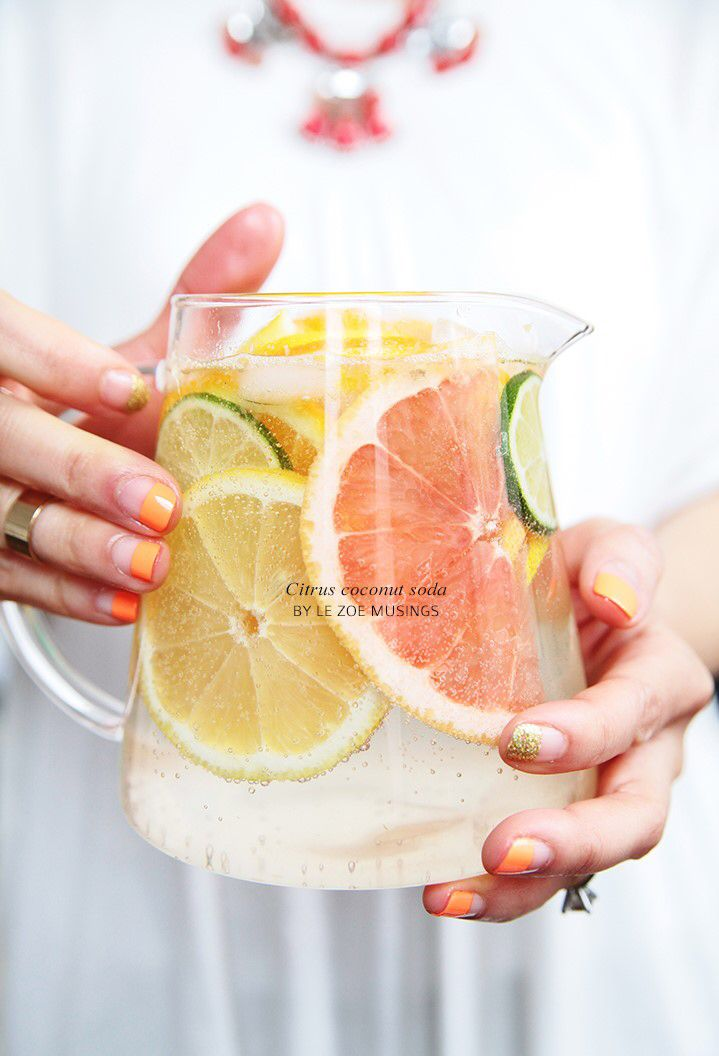 keroiam:Recipe: Citrus Coconut Soda http://bestdressedinthemidwest.tumblr.com/post/159617177834/keroiam-recipe-citrus-coconut-soda by http://apple.co/2dnTlwE