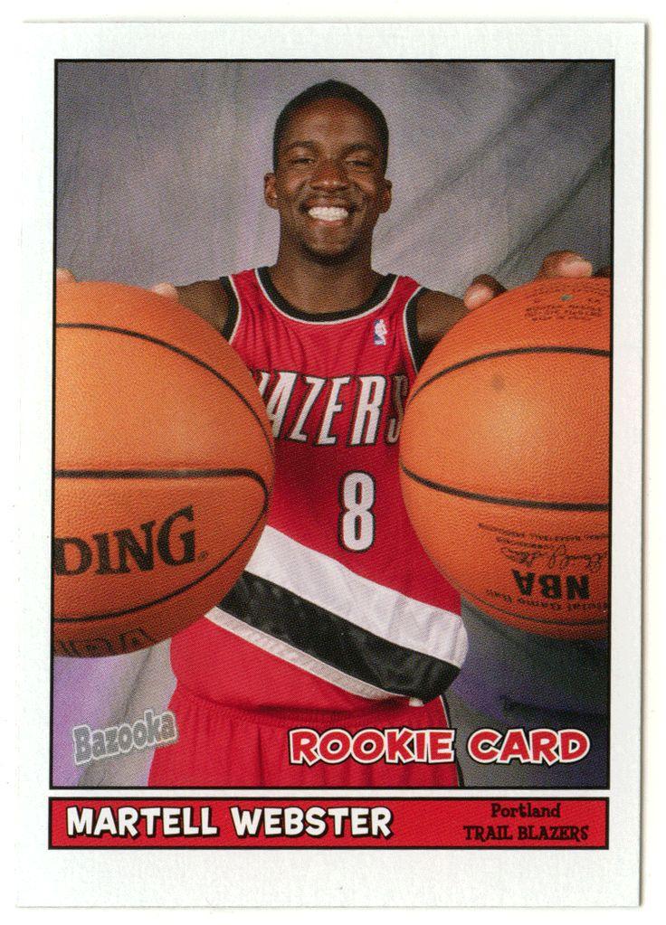 Martell Webster RC # 203 - 2005-06 Topps Baz Basketball NBA Rookie