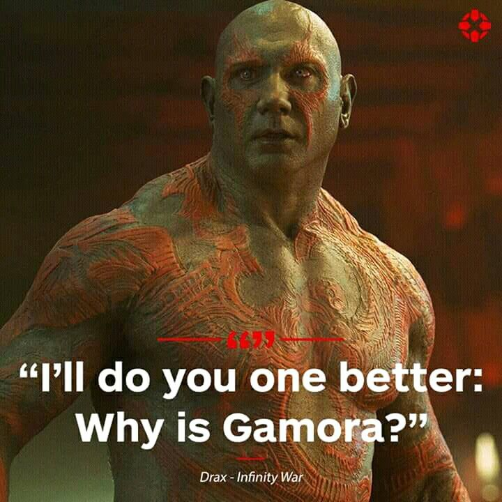 Drax Quotes Marvel Quotes Movie Quotes Avengers