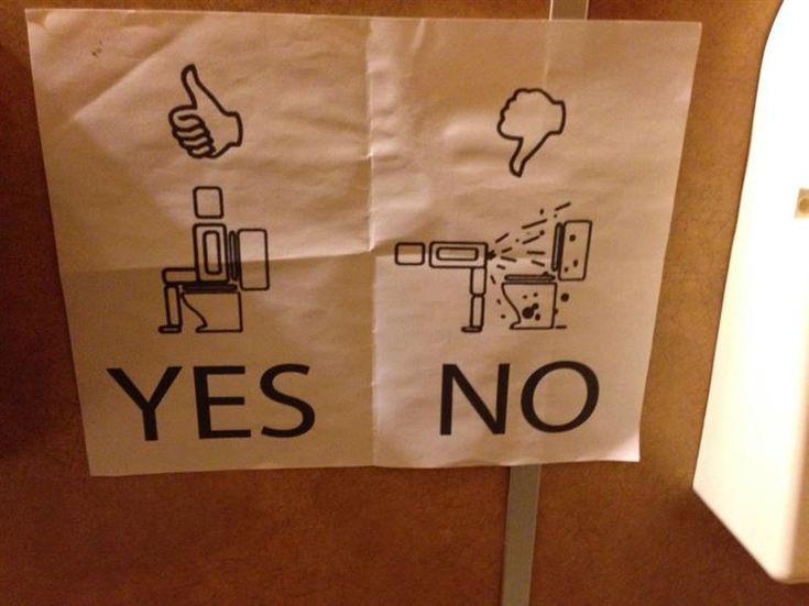 Bathroom Sign Yes No 25 best funny signs images on pinterest | funny signs, funny