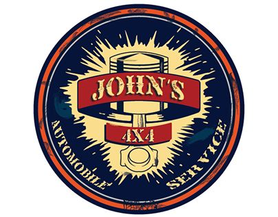 """Check out new work on my @Behance portfolio: """"John's 4x4 Automobile ervice"""" http://be.net/gallery/38618719/Johns-4x4-Automobile-ervice"""