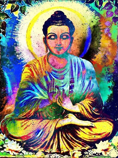Buddha Cynthia Ventura I would love this in print