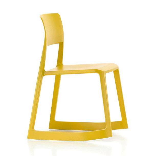 Tip Ton Chair Mustard for Vitra / designed by Edward Barber and Jay Osgerby