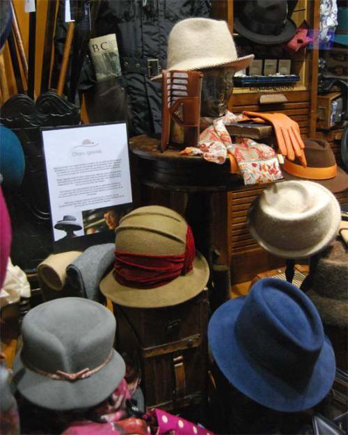 Sombreros de Charo Iglesias en Sombrerería Albiñana