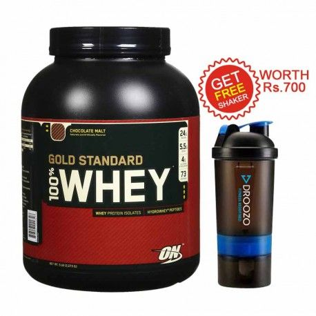 Optimum Nutrition (ON) Gold Standard 100% Whey, Double Rich Chocolate 5 lb