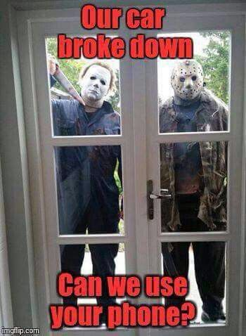 Jason and michael myers...seems legit!