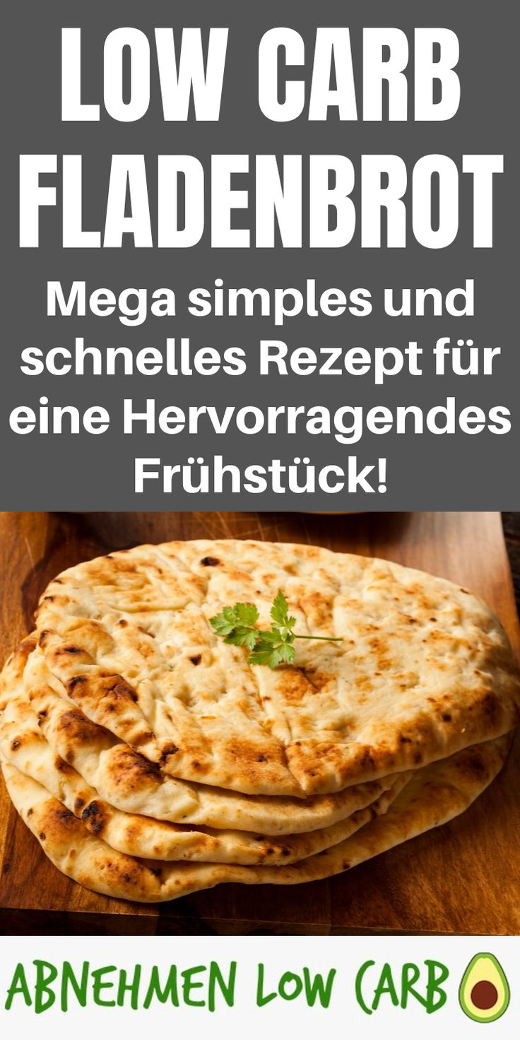 From now on, you can easily make your own flatbread yourself! Mega recipe around …  – Low Carb Frühstück
