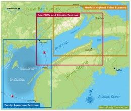 Bay of Fundy Eco Zones