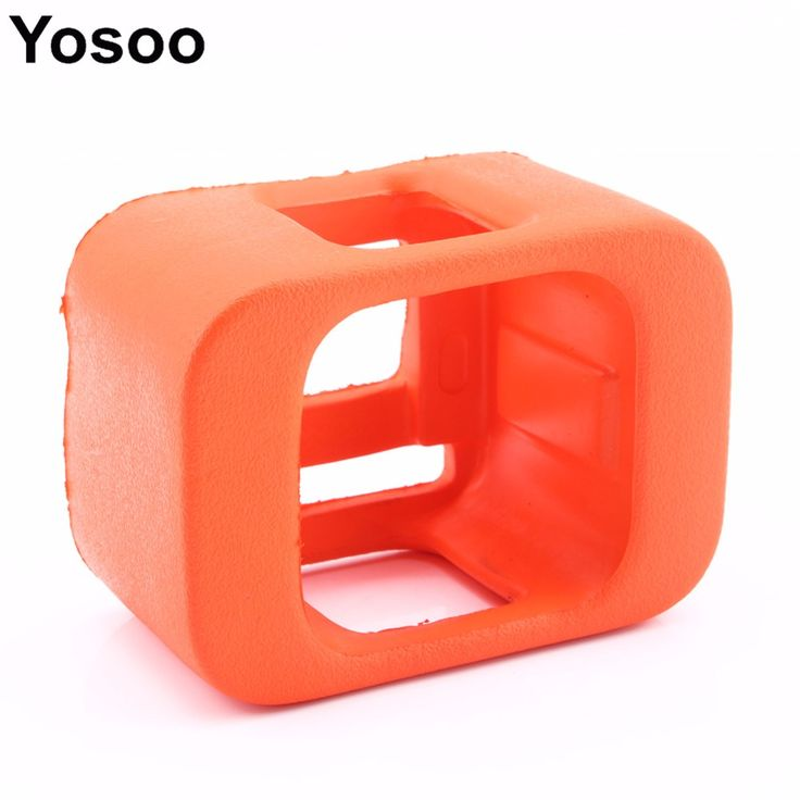 For Gopro Camera for Go pro Backdoor Cover Orange Floaty Silicone Frame Case For Gopro Hero 4 Session Camera  Accessories