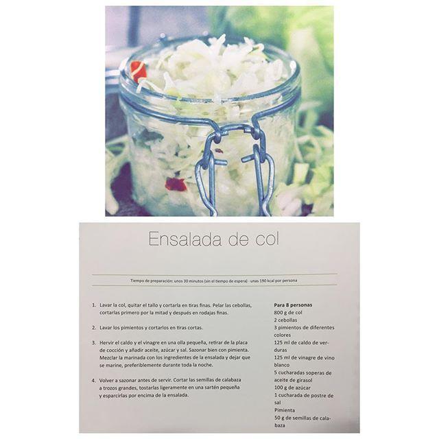 ¡Nueva receta!Ensalada de Col, ¡buenísima y fresquísima!