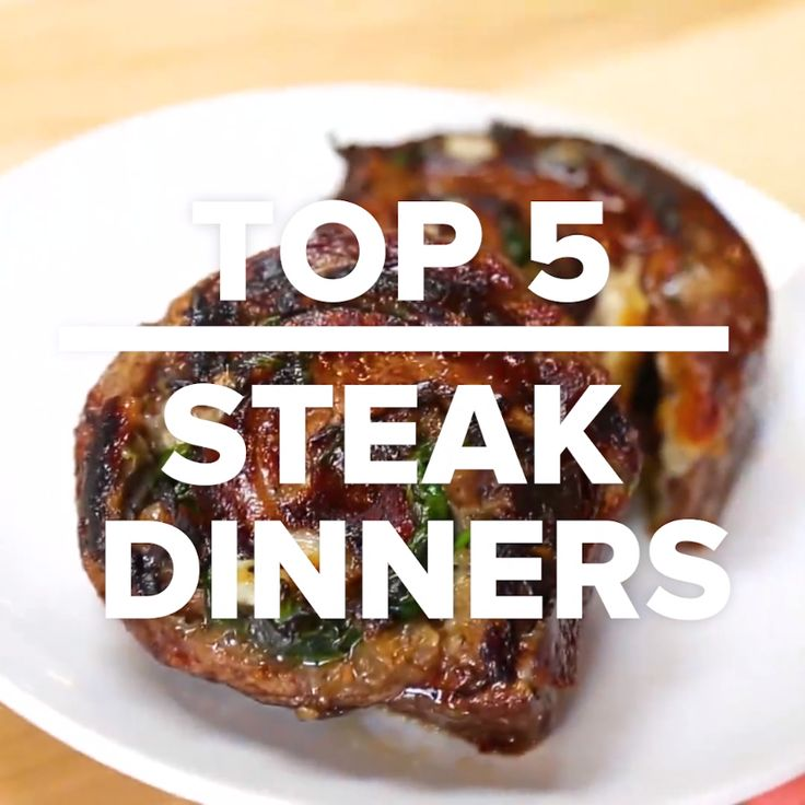 Top 5 Steak Dinners // #steak #meat #recipes #food #Tasty