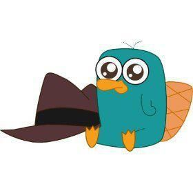 perry the platypus <3 i want him @Taylor Strohmenger