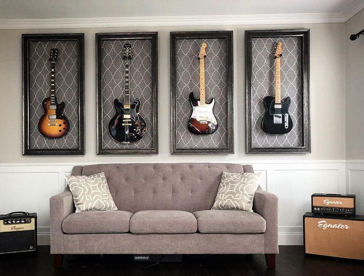 приезду постер в интерьере с гитарой сытное очень полезное