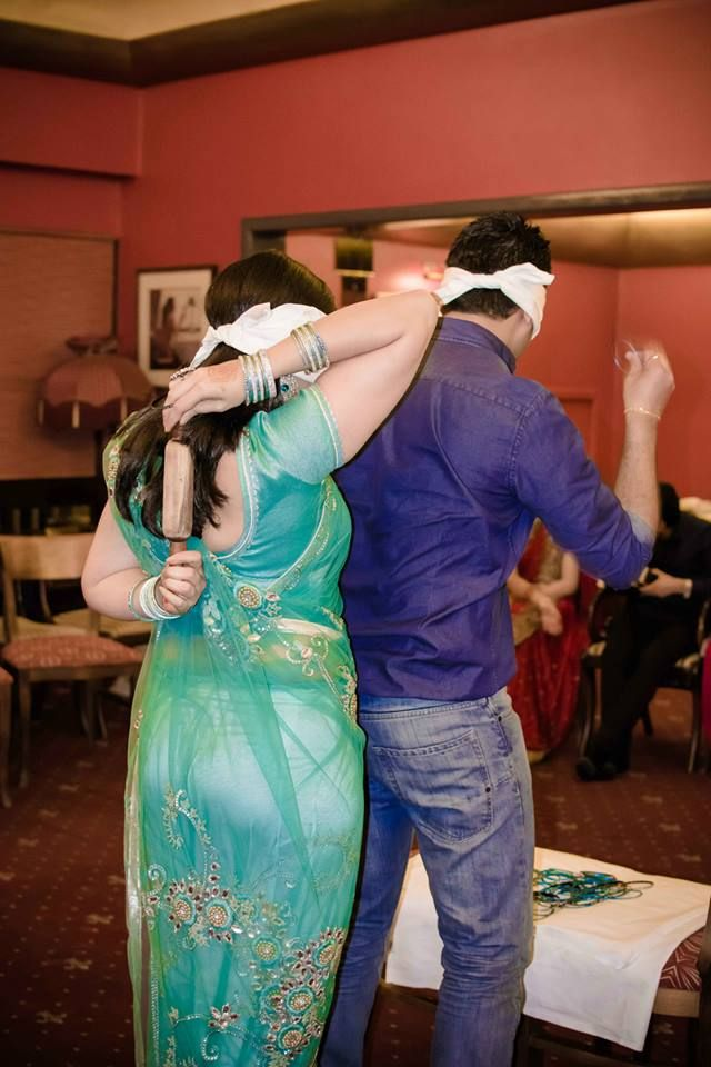 Couple Party Games : Wearing Bangles Is Not Easy Always