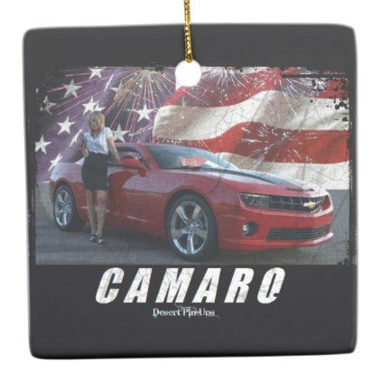 2010 Camaro SS Ceramic Ornament - home gifts ideas decor special unique custom individual customized individualized