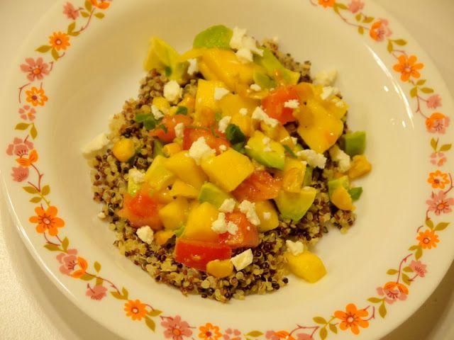 Villa speelmama: Heerlijk gezond recept van Jamie Oliver: quinoa-sa...