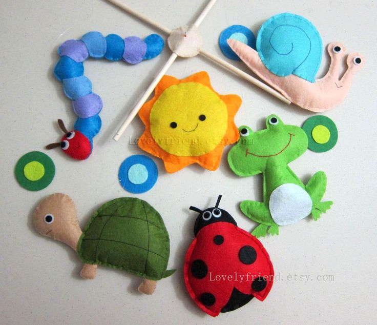 Baby Crib Mobile Baby Mobile Ladybug decorative door lovelyfriend