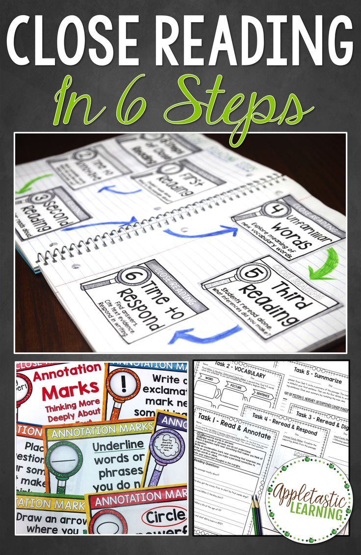"Close Reading in the classroom can be really helpful in increasing student comprehension and understanding! If you've ever wondered ""What is Close Reading?"" and wanted to know some easy-to-implement Close Reading strategies and steps, this blog post is for you! Close Reading annotations, lessons, activities, passages, posters and more help you get started on the right track today!"