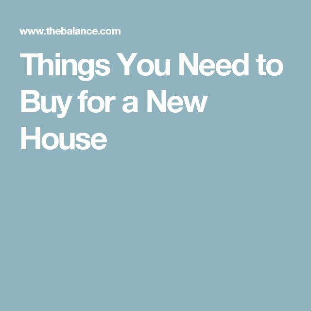 13 best things to get for new house images on pinterest for Things you need for a new home