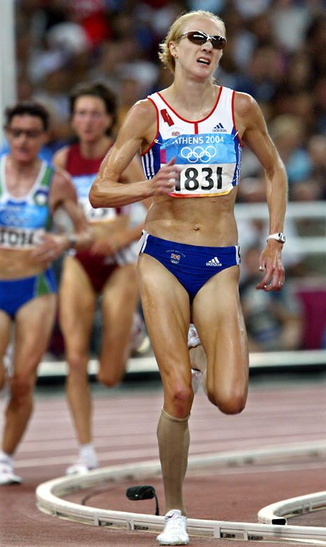 Paula Radcliffe. Olympian, world record holder, and mother of two. She is a BEAST!