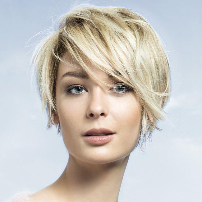 Coiffure cheveux courts - SAINT ALGUE - Tendances automne-hiver 2015-2016