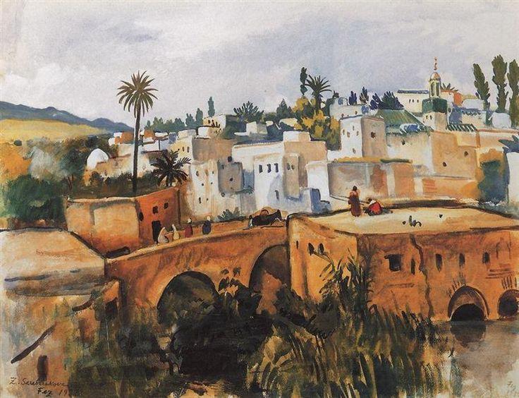 Фес. Марокко, 1932 - Зинаида Серебрякова