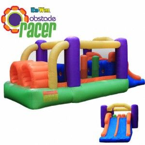 Bounce houses are a great way for kids to get out and burn off some energy.