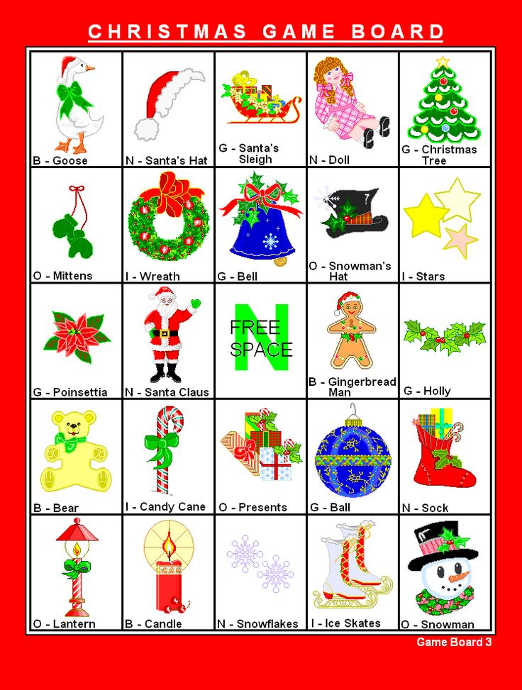 Christmas Bingo Game to Print   We recommend using 110 lb. card stock or better for most of our ...