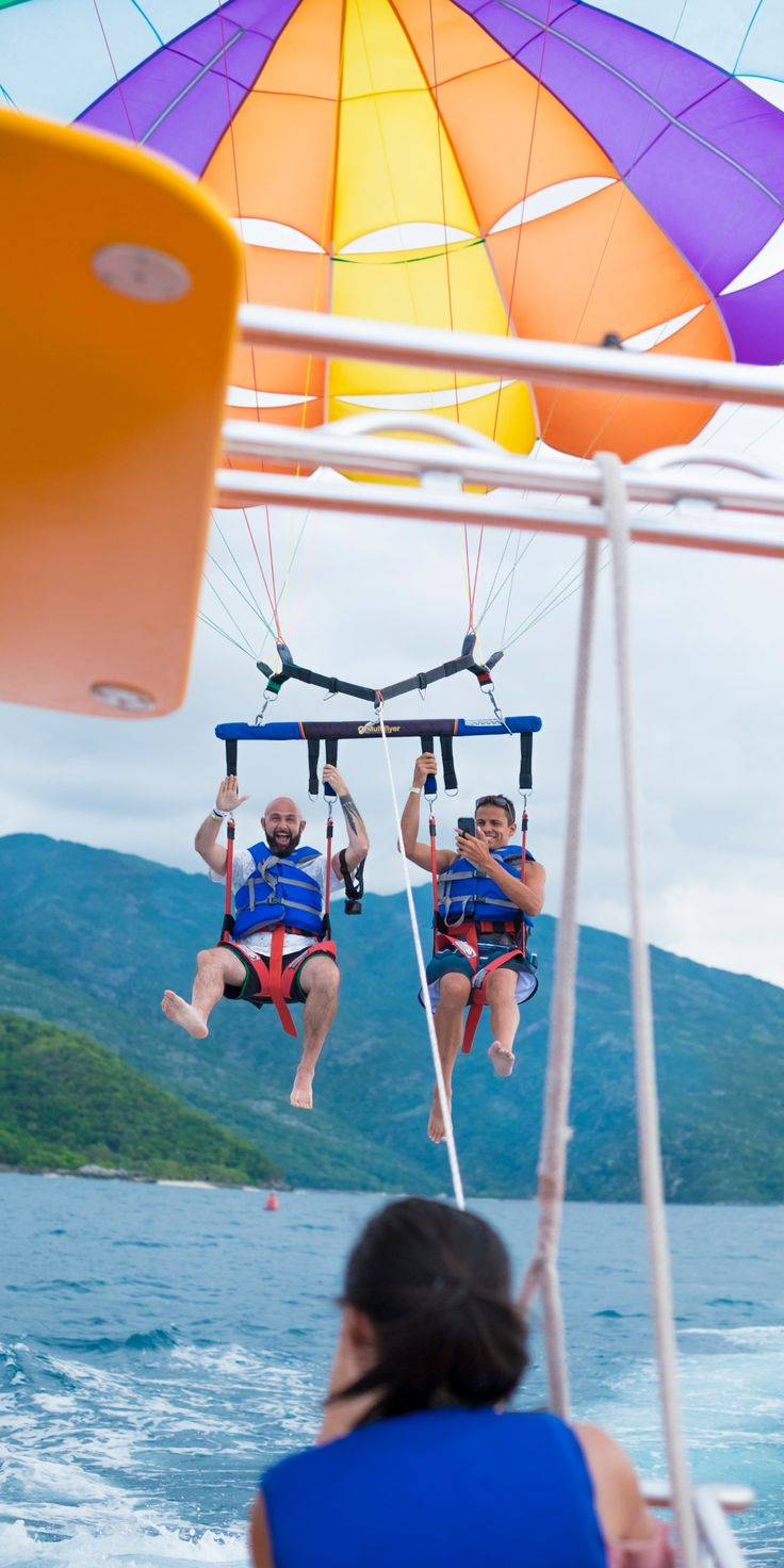 Labadee, Haiti | What would you do with 8 hours in Labadee? There are ocean adventures all throughout this private cruise getaway, accessible only with Royal Caribbean. Parasail over some of the world's most beautifully blue seas, or take a trip down the Dragon's Breath Flight Line, the world's longest zip line over water.