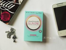 Maybelline Clear Smooth All In One Shine Free Cake Powder Review on Oily Acne Prone Skin