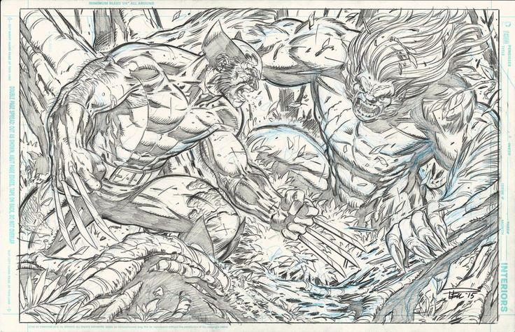 Paul Pelletier: Wolverine VS Wendigo