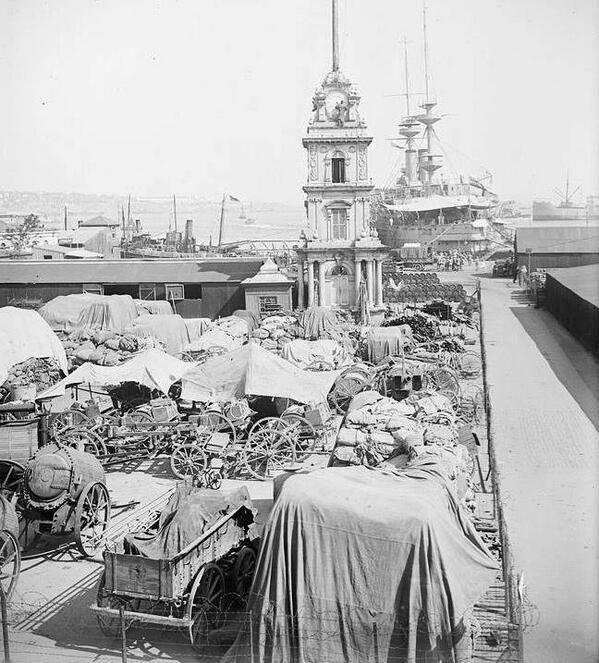 1920'li yıllar İstanbul'un işgal yılları... İngiliz deposu (Tophane)