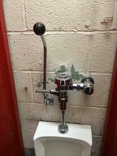 Gear Shifter Toilet Urinal Flush Handle Stuff Made Out