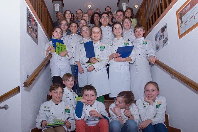 Schlemmerbande Esslingen: Kinder schnuppern ein Jahr in die Gastronomie. Am Ende… – Nicole Kreja