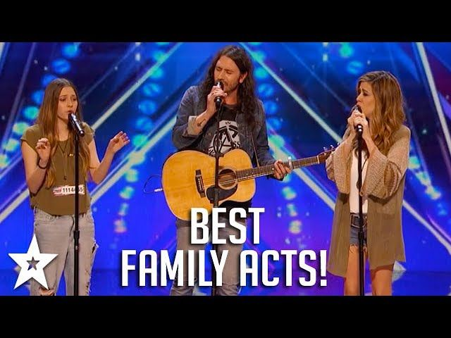 Watch these incredible FAMILY ACTS on Got Talent from across the world! Including Britain's Got Talent's Stavros Flatley, Australia's Got Talent's Uncle Jed and America's Got Talent's Edgar Family! Who's your favourite? Let us know in the comments below...   #audition #best auditions on got talent #edgar family america's got talent #emotional auditions on got talent #family acts #family acts on got talent #family groups on got talent #family singers #family singers on got tal
