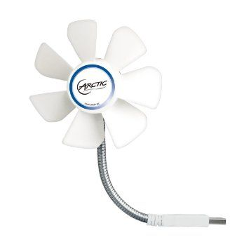 ARCTIC Breeze Mobile - 92 mm USB Fan for Everywhere - Perfect for Notebooks , Laptops , Netbooks: Stay cool under a fiver