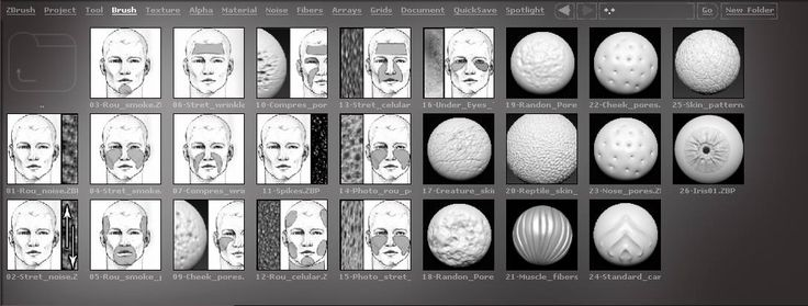Need Free Skin Alpha Brushes for ZBrush? Download this Free ZBrush Skin Alpha Brushes Pack with Realistic Human Skin Alphas, Pores, Wrinkles & Reptile Skin.