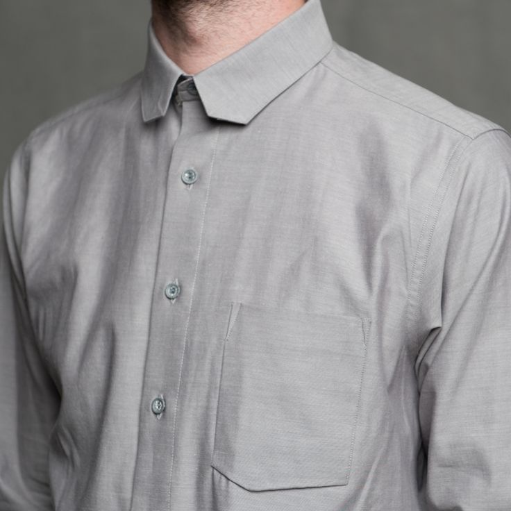 18 Waits - Sterling Shirt - Collar Detail