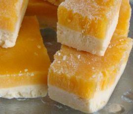 Frozen Mango Bars...