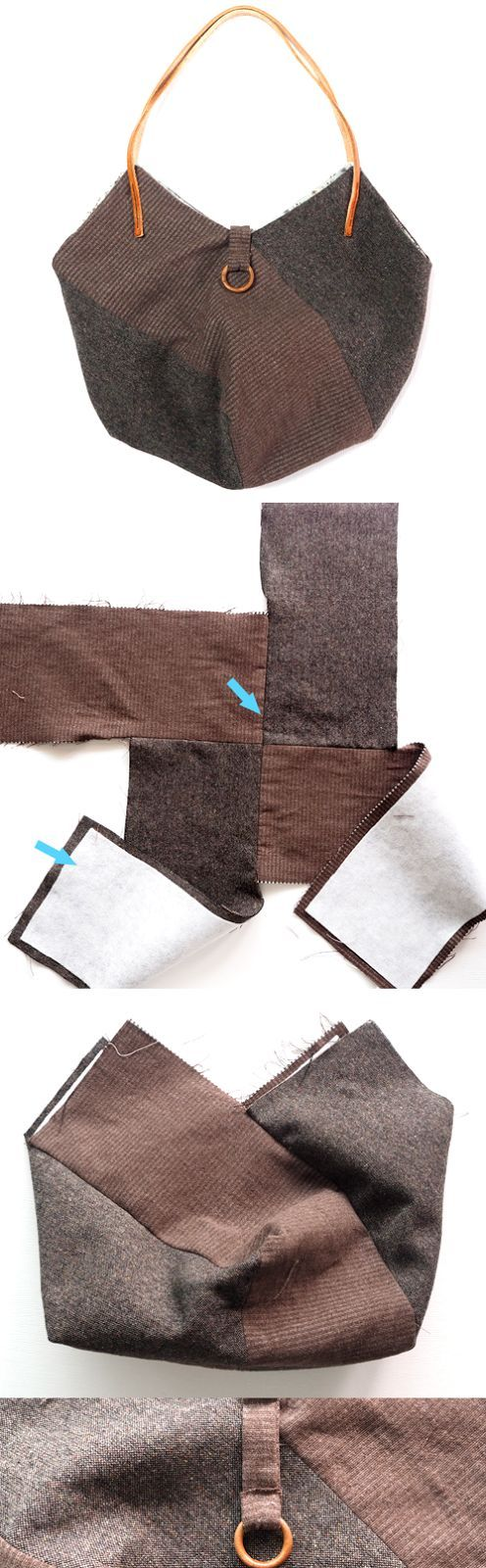 How to Sew a Hobo Bag   http://www.handmadiya.com/2016/11/how-to-sew-hobo-bag.html