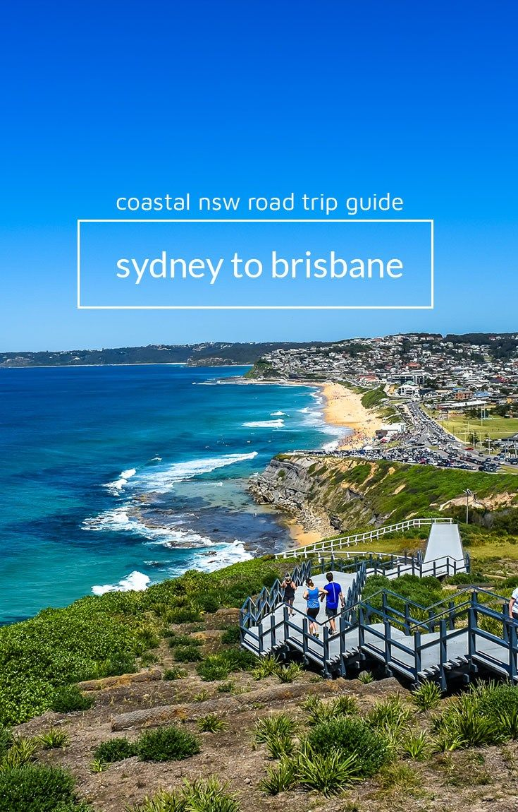 Sydney to Brisbane road trip itinerary. Your guide to driving coastal NSW. Picture of Bar Beach, Newcastle.