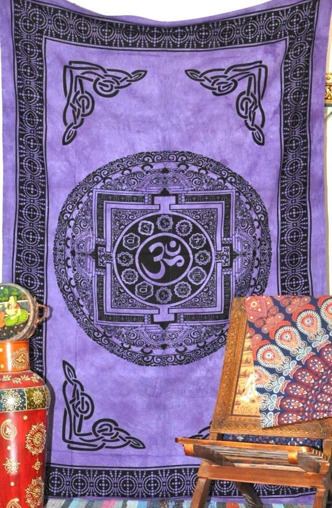 Om Aum Tapestry Chakra Purple Twin Wall Hanging Bedspread #Om #IndianSouthAsian #GRAPECODA #tapestry #wallhanging #hippie #om #aum #yoga #yogainspiration #chakras #shopping #sale #deals #discount #tapestries #mandalas #mandalaart #mandala #sacred #symbols #purple #dorm #dormroom #dormdecor #dormlife #dormitorio #bedroom #bedroomideas #bedroomdecor #bedroomdesign #livingroomideas #livingroomdecor #livingspaces #meditation #boho #bohemian #bohostyle #mystic