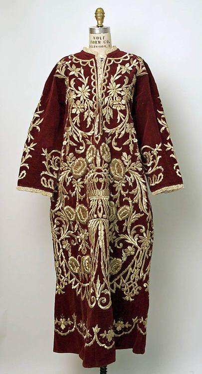 Wedding Robe 19th Century to 20th Century Turkish