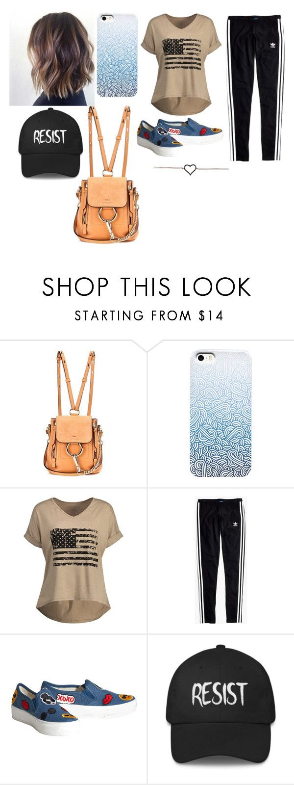 """"""""""" by hsealover ❤ liked on Polyvore featuring Chloé, Madewell and Alice + Olivia"""