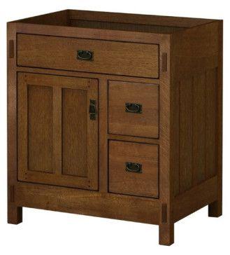 "Sagehill Designs AC3021DN New American Craftsman 30"" Vanity"