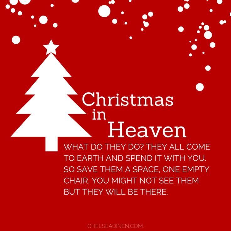 Best 25 Christmas In Heaven Ideas On Pinterest