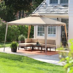 Have to have it. Coral Coast Backyard Festival 10 x 10 ft. Gazebo Canopy - $99.98 @hayneedle