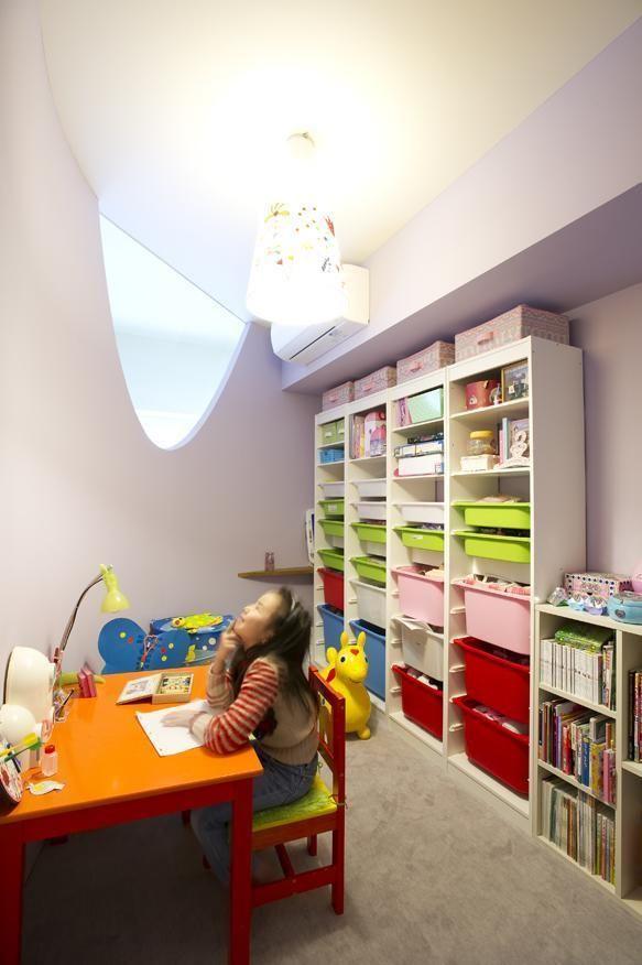 リフォーム・リノベーション会社:ブルースタジオ「Cucumber—そこにいたくなる楽しい子ども部屋」