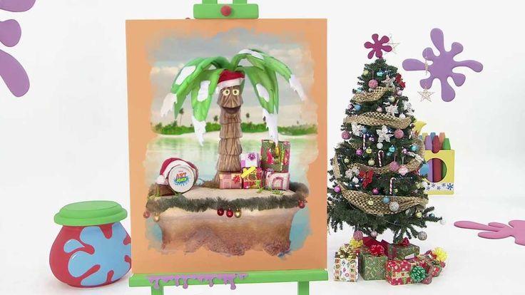 Art attack - Les chaussettes du Père Noël - Sur Disney Junior - VF