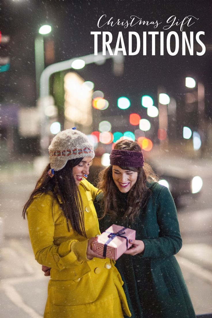 Gifting Traditions To Create & Continue - http://everydaycheer.com/2013/12/13/gifting-traditions-to-create-continue/